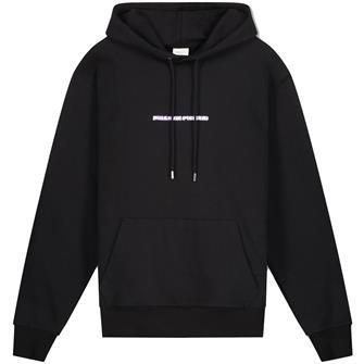 Filling Piec Aw21 hoodie black blurred fire BLACK