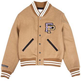Filling Piec Varisty jacket CAMEL