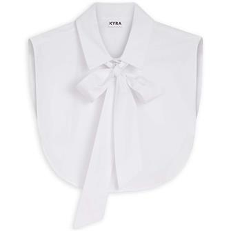 KYRA Bow collar 100 WHITE