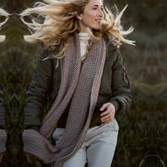 Moscow 46.07 scarf LIGHT TAUPE