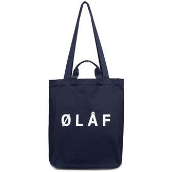 Olaf Olaf tote bag NAVY