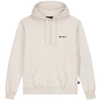 Olaf Olaf uniform hoodie ECRU HEATHER