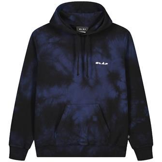 Olaf Olaf uniform hoodie tie dye BLACK / NAVY