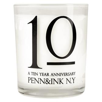 Penn & Ink Candle WHITE