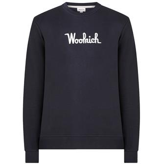 Woolrich Wosw0090 crew essential MELTON BLUE 3989