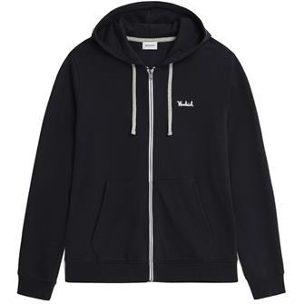 Woolrich Wosw0091 hoodie fz essential MELTON BLUE 3989