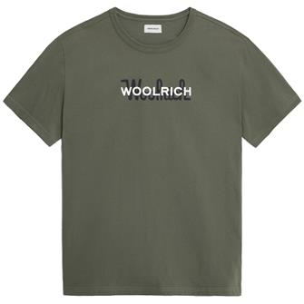 Woolrich Wote0048 macro logotee FISHING GR 6024