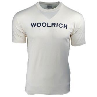 WOOLRICH wotee0024 logo tee 8929